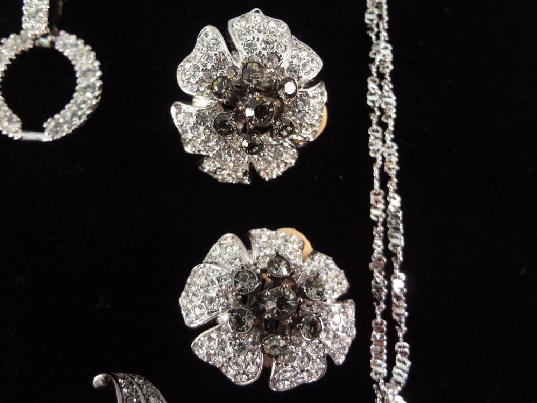 (2) Nolan Miller Necklace, Brooch and Earrings Sets - 4