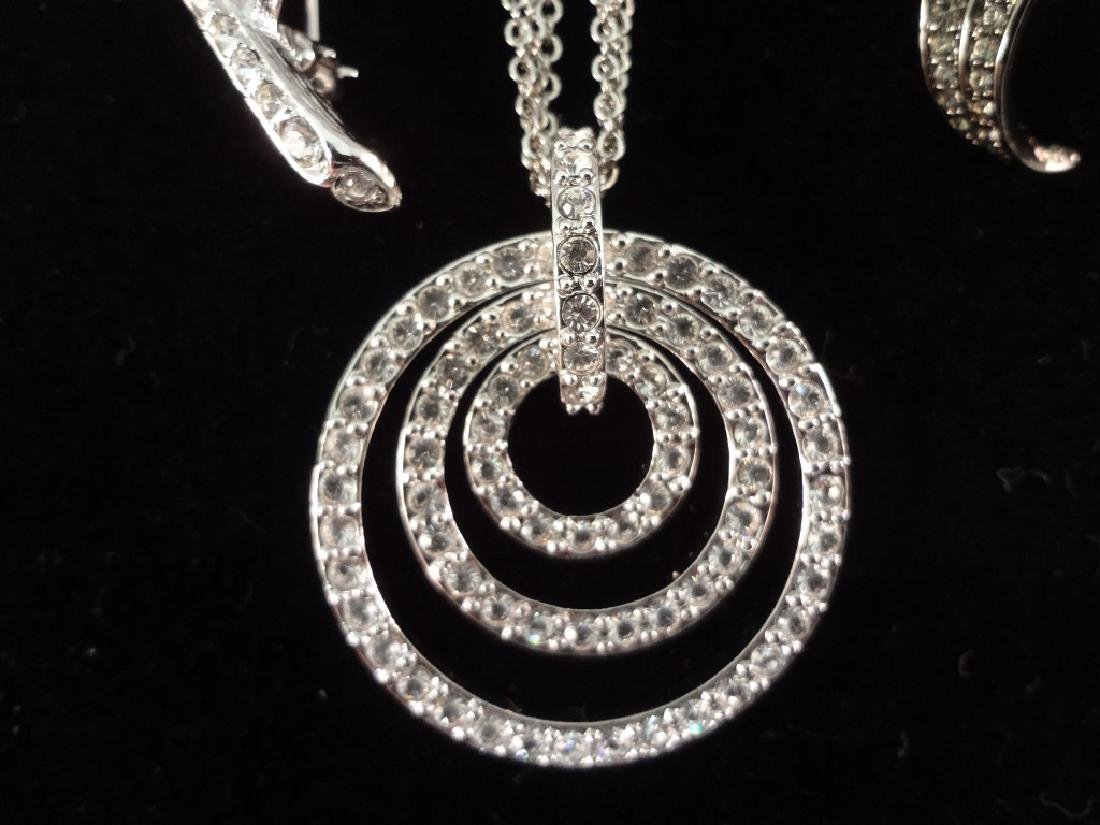 (2) Nolan Miller Necklace, Brooch and Earrings Sets - 5