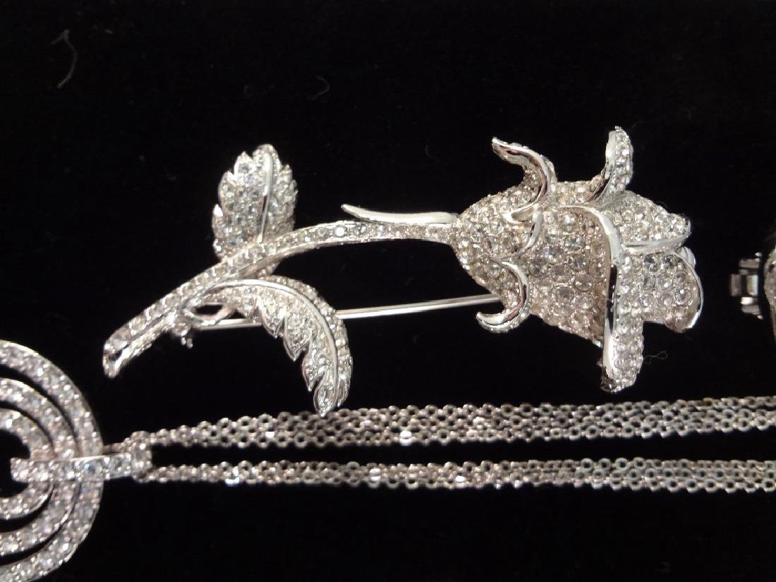 (2) Nolan Miller Necklace, Brooch and Earrings Sets - 6