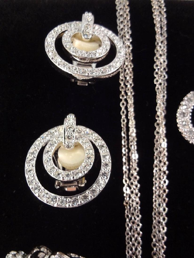 (2) Nolan Miller Necklace, Brooch and Earrings Sets - 7