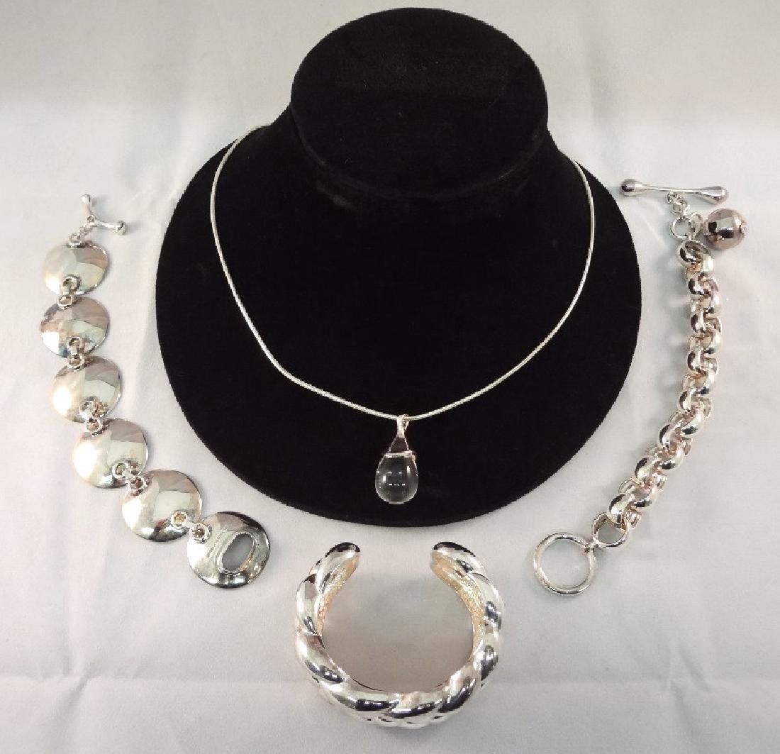 Robert Lee Morris Sterling Silver Jewelry Group: (1)
