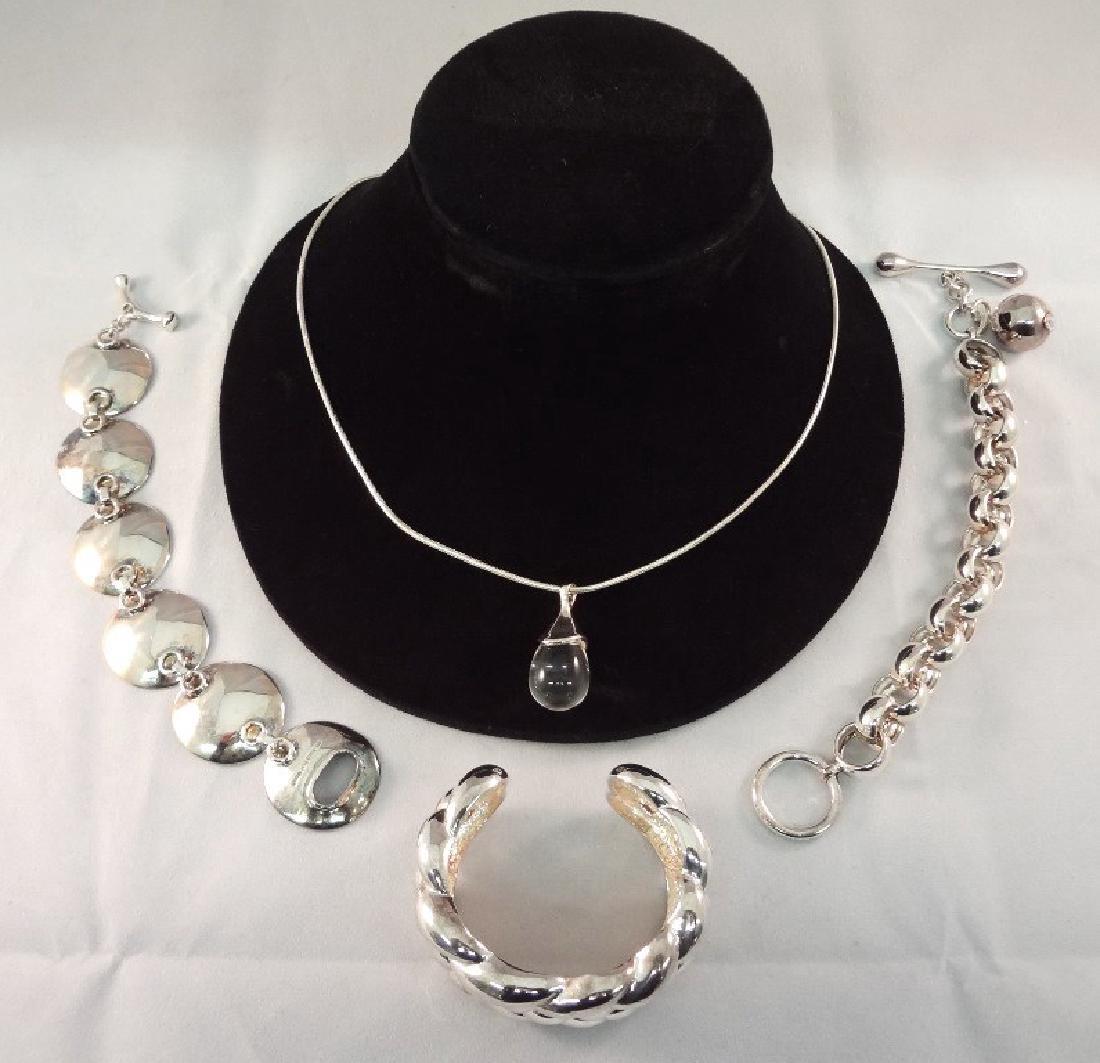 Robert Lee Morris Sterling Silver Jewelry Group: (1)