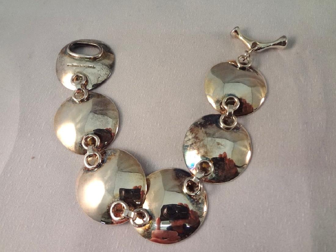 Robert Lee Morris Sterling Silver Jewelry Group: (1) - 2