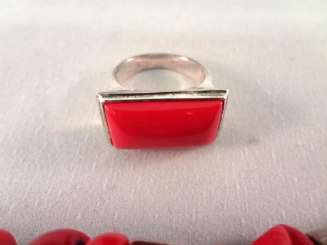 (4) Robert Lee Morris Sterling Silver Bracelets and (1) - 4