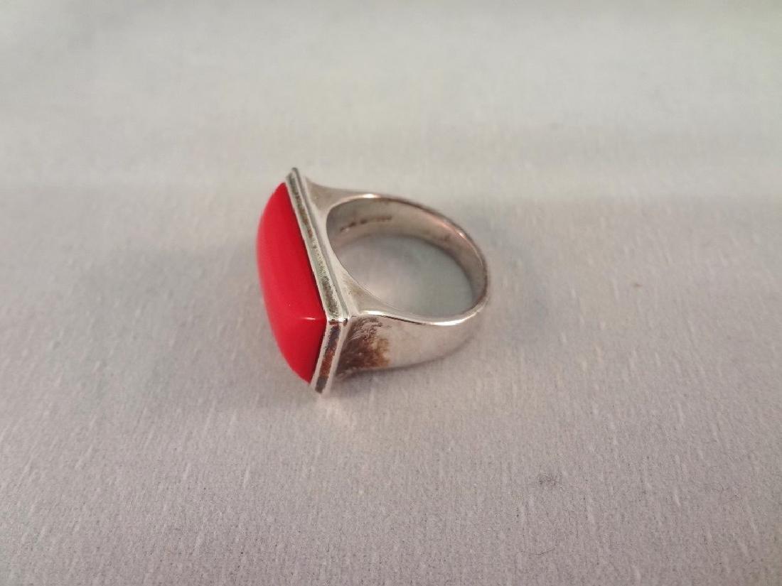 (4) Robert Lee Morris Sterling Silver Bracelets and (1) - 5