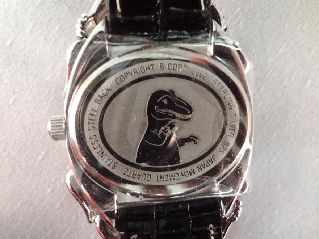 Barry Kieselstein Cord Alligator Sterling Silver Watch - 5