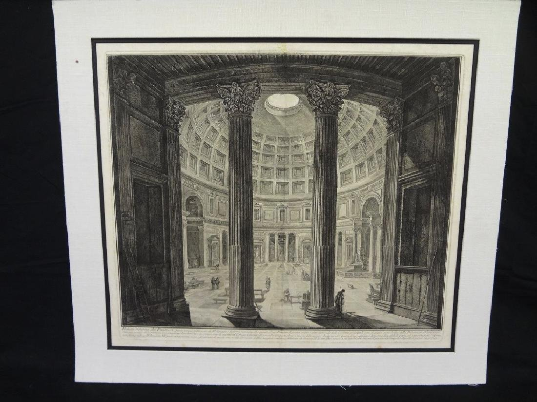 "Giovanni Battista Piranesi 18th Century Etching ""The"
