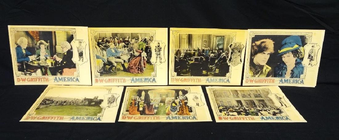 Pre-War Hollywood Lobby Cards D.W. Griffith Presents