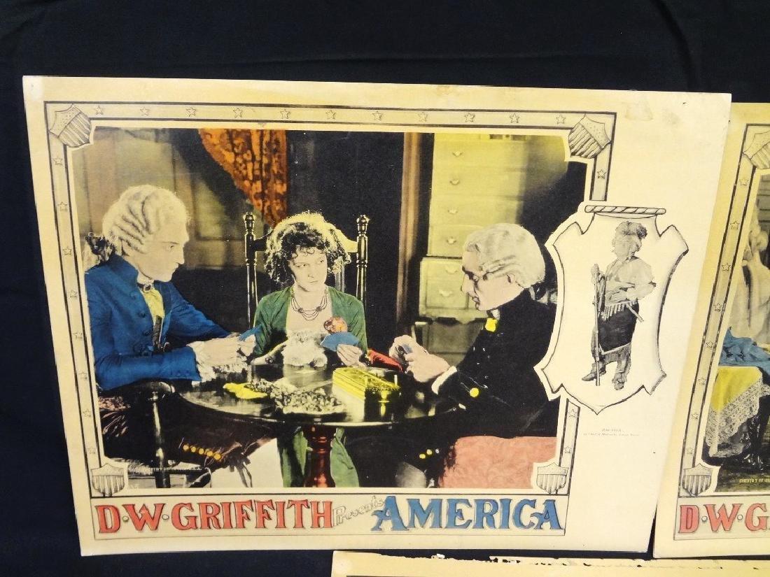 Pre-War Hollywood Lobby Cards D.W. Griffith Presents - 2