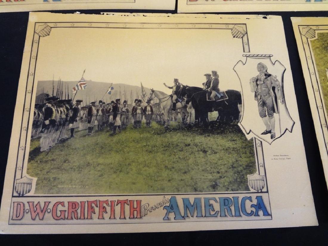 Pre-War Hollywood Lobby Cards D.W. Griffith Presents - 3