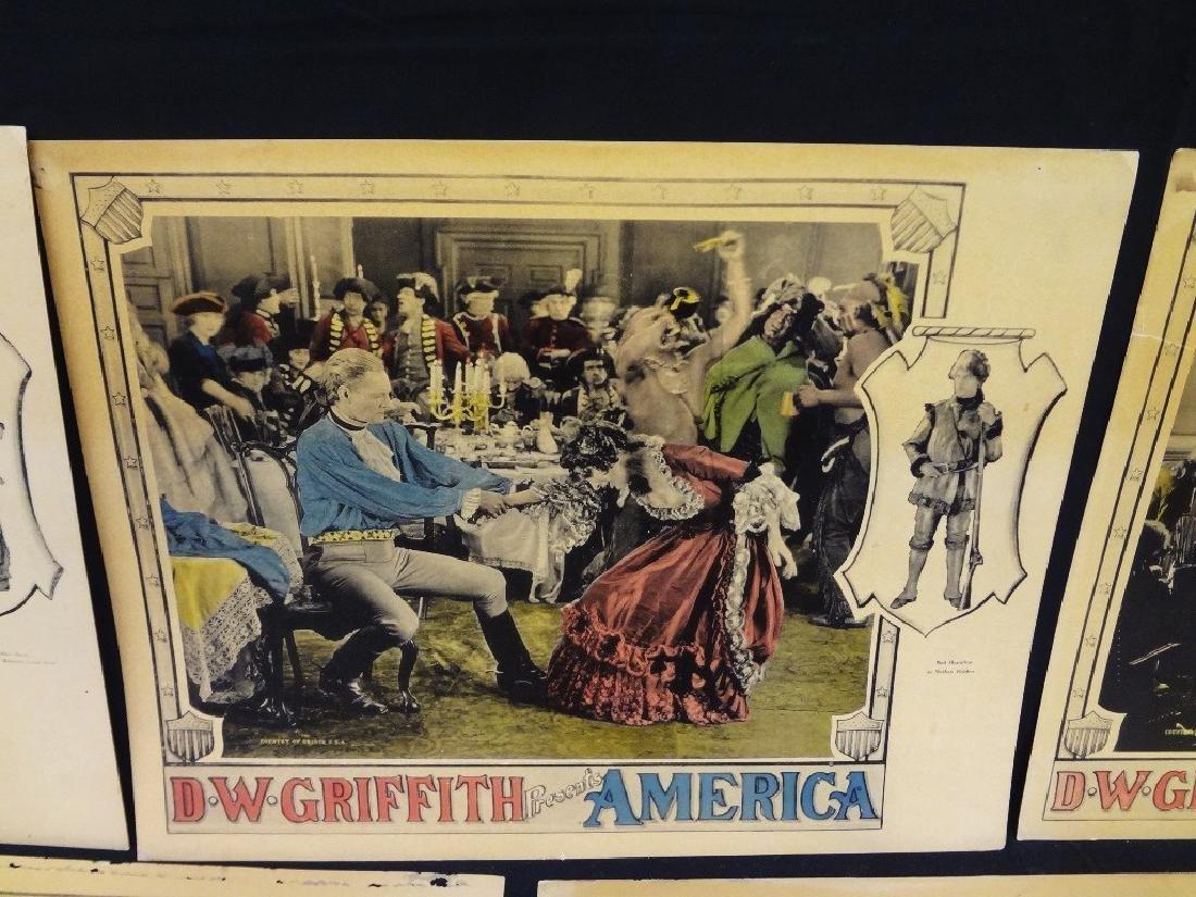 Pre-War Hollywood Lobby Cards D.W. Griffith Presents - 4