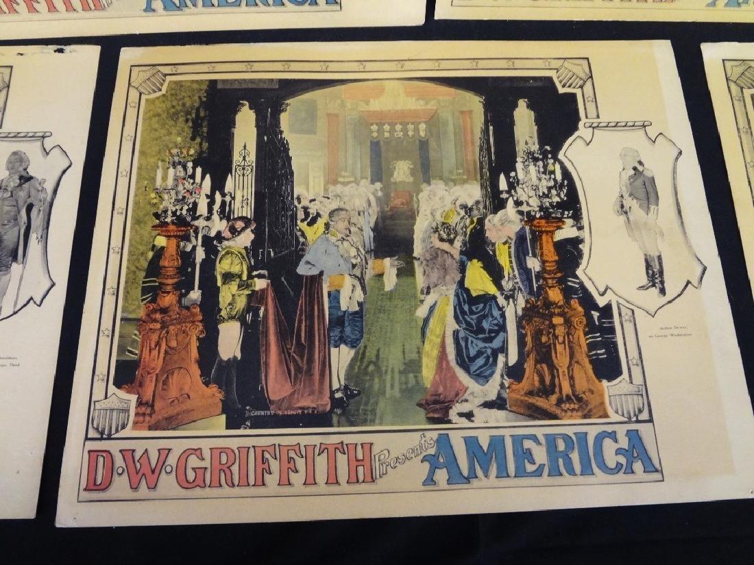 Pre-War Hollywood Lobby Cards D.W. Griffith Presents - 5