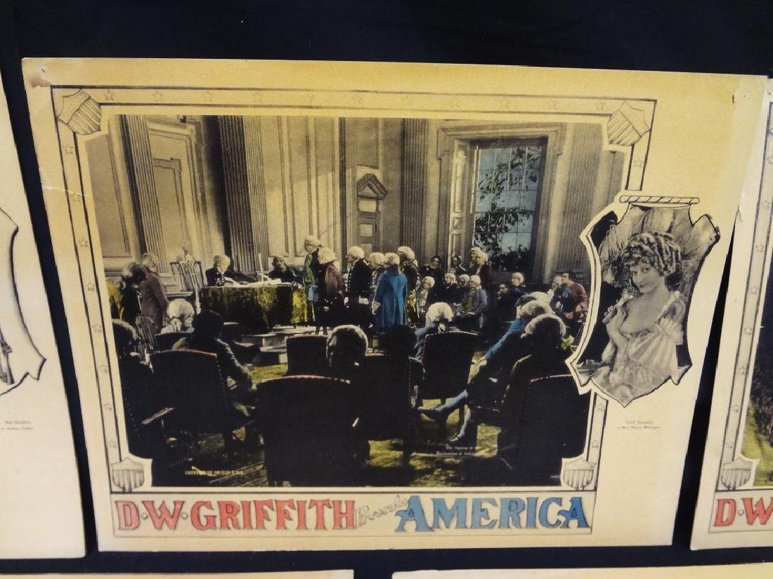 Pre-War Hollywood Lobby Cards D.W. Griffith Presents - 6