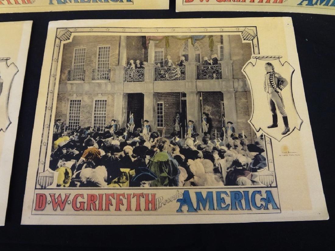 Pre-War Hollywood Lobby Cards D.W. Griffith Presents - 7