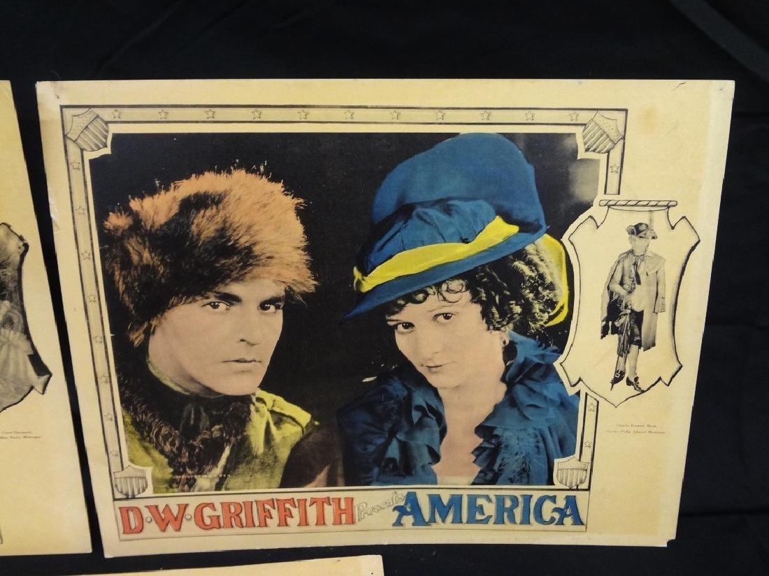 Pre-War Hollywood Lobby Cards D.W. Griffith Presents - 8