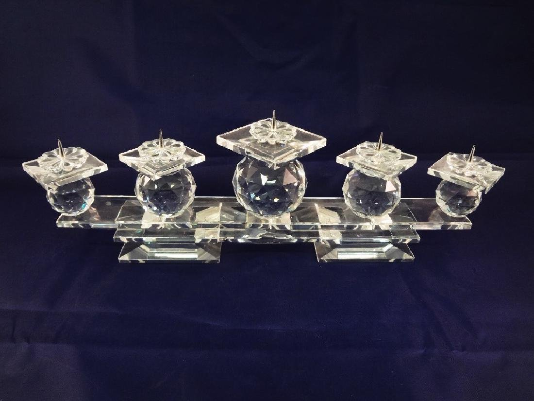 Swarovski Crystal (6) Candle Candleabra