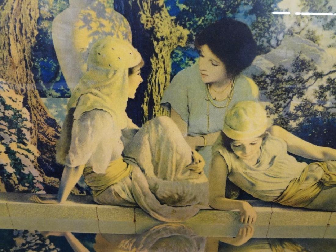 """Maxfield Parrish """"Garden of Allah"""" Lithograph Matted - 2"""