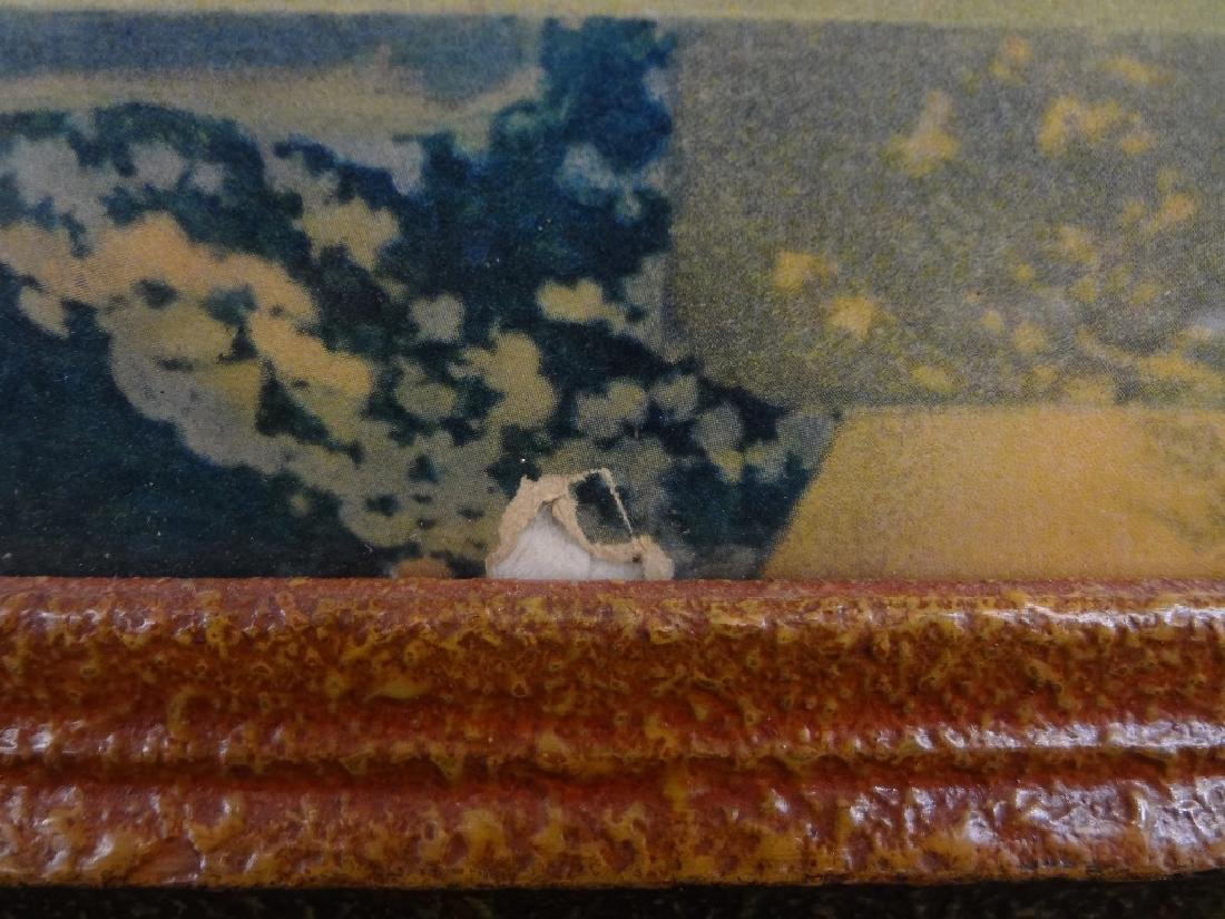"""Maxfield Parrish """"Garden of Allah"""" Lithograph Matted - 3"""
