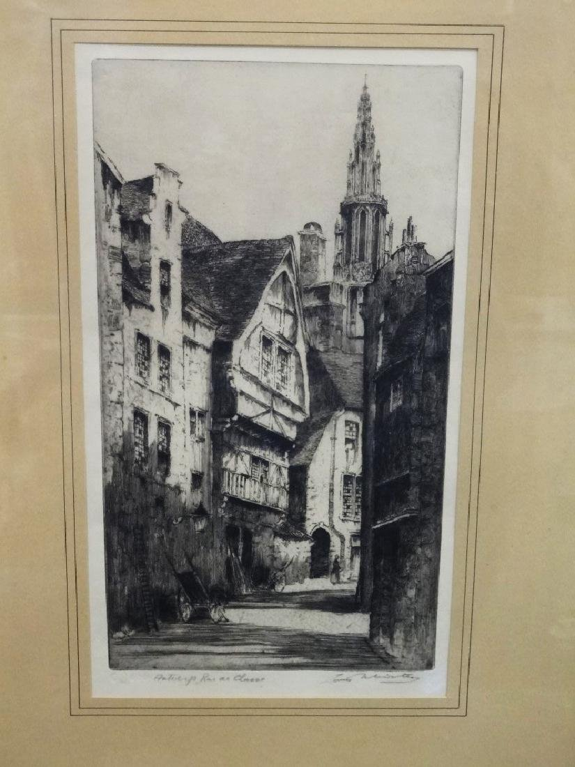 Louis Whirter (Scottish 1873-1932) Original Etching