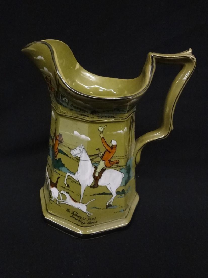 Buffalo Pottery Deldare Ware Large Pitcher: The