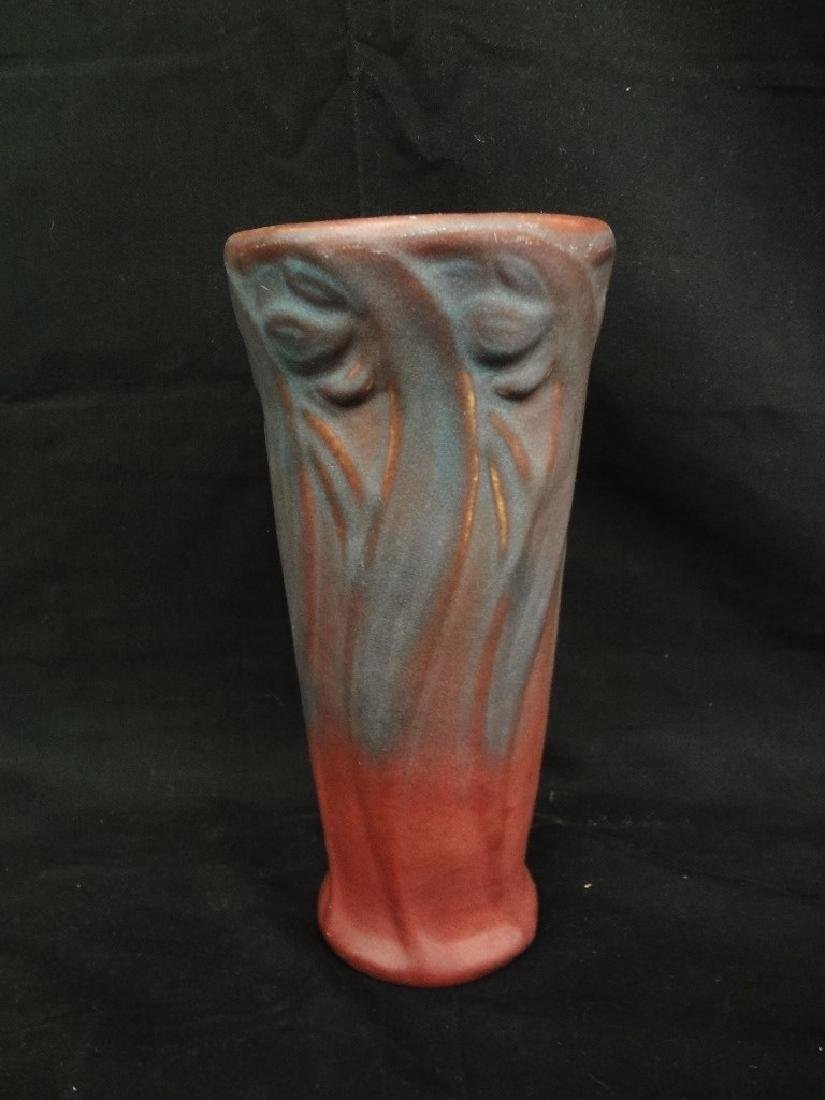 Van Briggle Art Pottery Mulberry Daffodil Wide Mouth