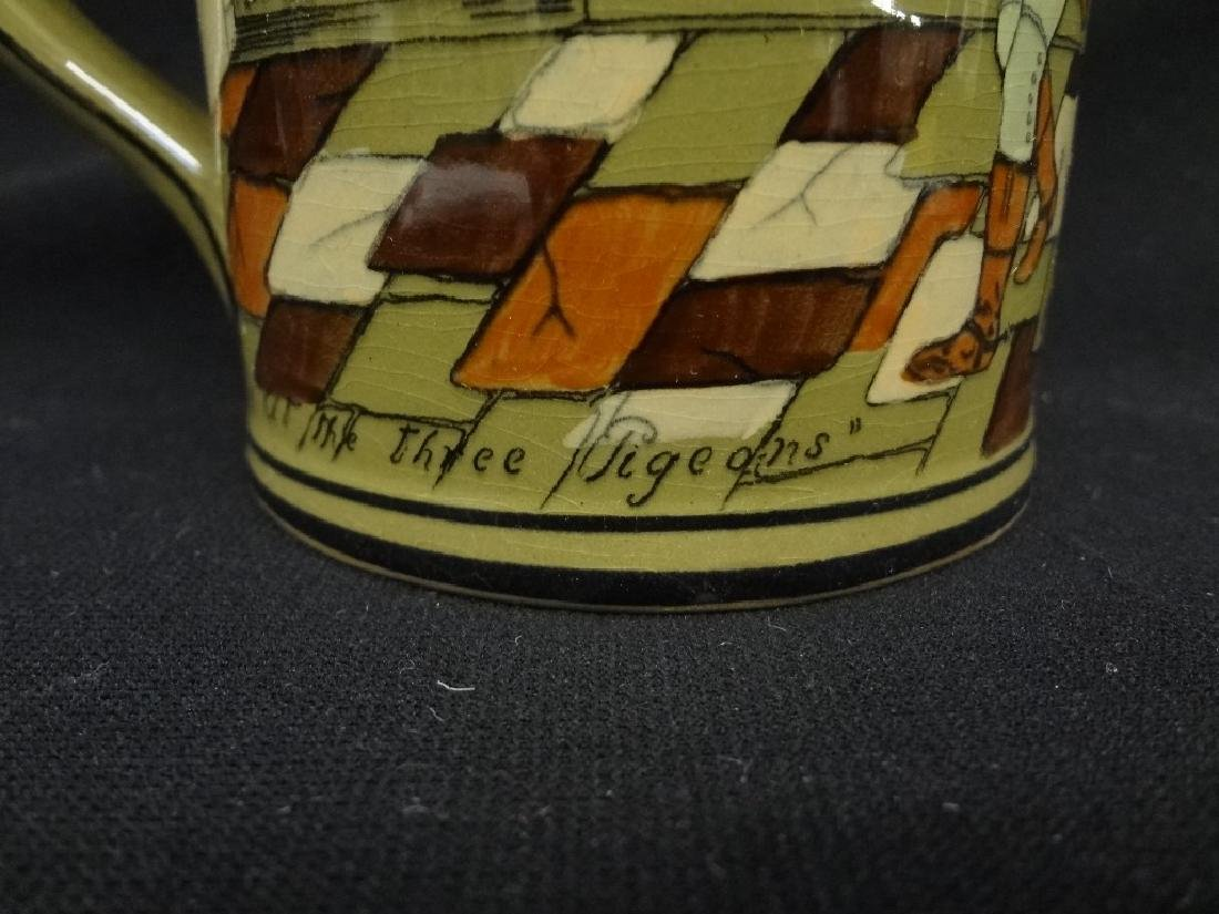 "Buffalo Pottery Deldare Ware Tankard ""At the Three - 2"