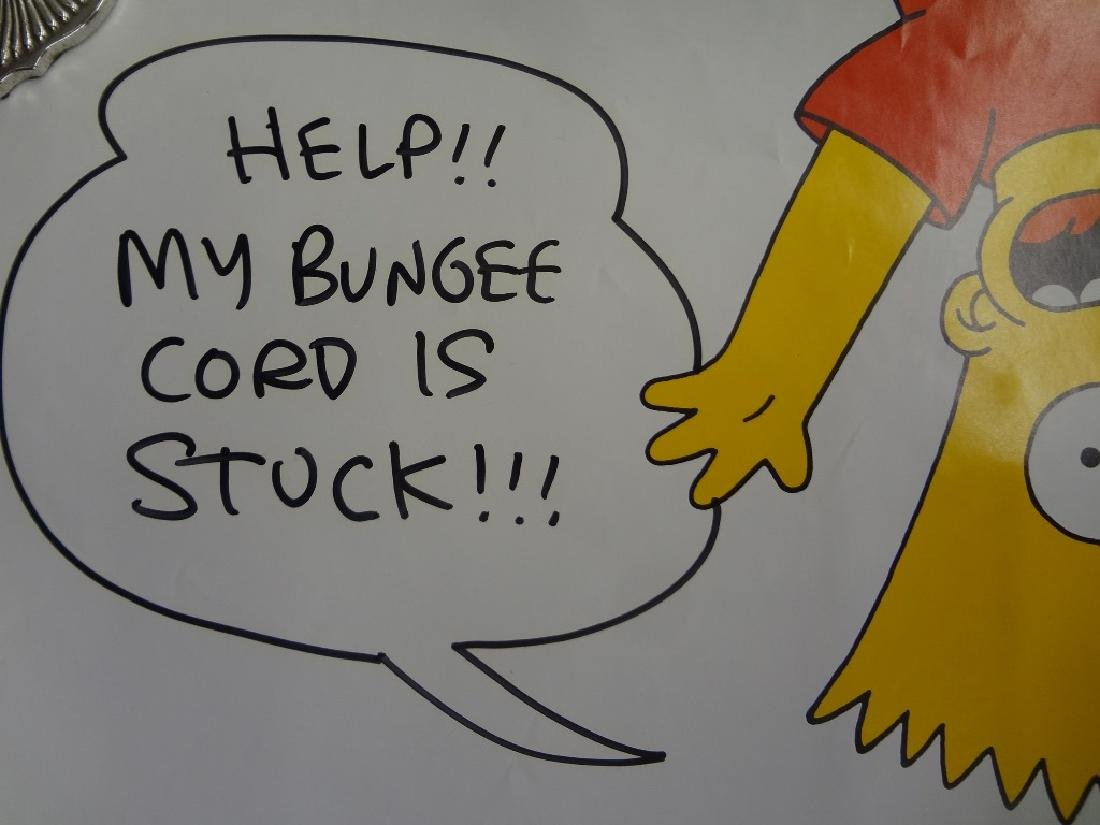 The Simpson's Poster Autographed by Matt Groening with - 4