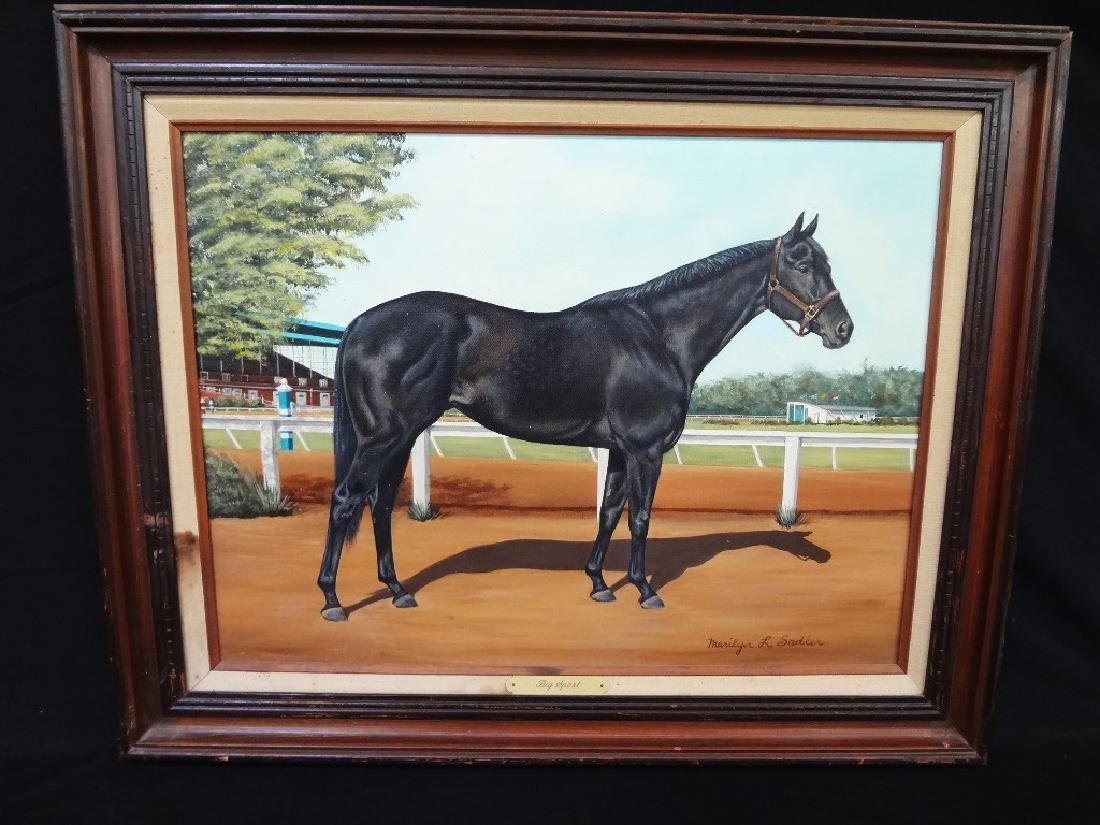 "Marilyn Sadler Original Oil Painting ""Big Sport"" Horse"