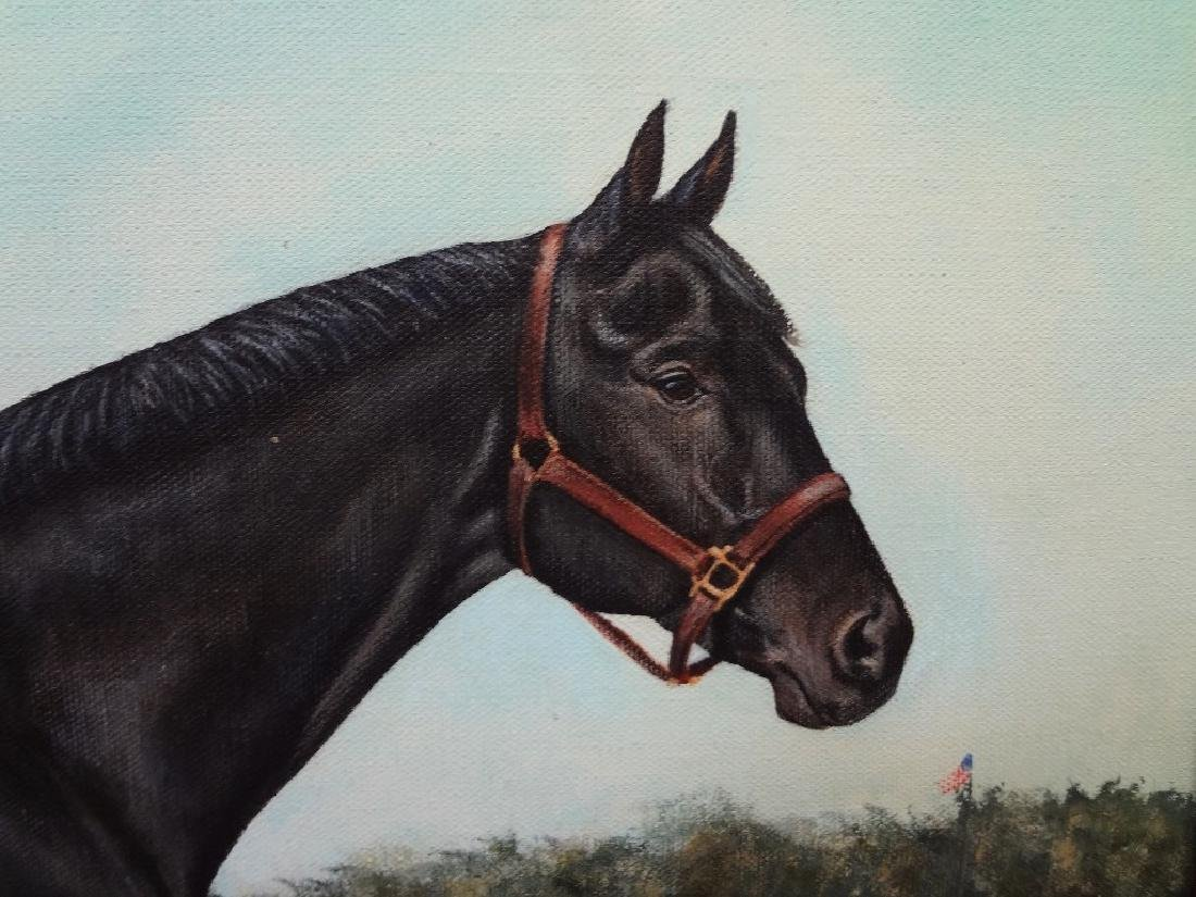 "Marilyn Sadler Original Oil Painting ""Big Sport"" Horse - 2"