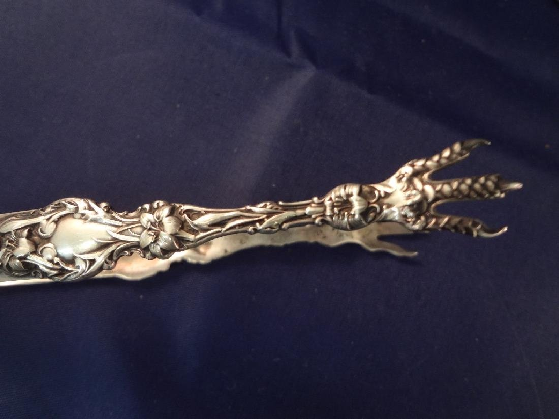 Whiting Sterling Silver Flatware Art Nouveau Lily - 3