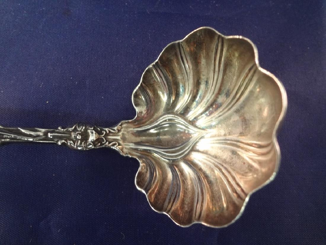 Whiting Sterling Silver Flatware Art Nouveau Lily - 4