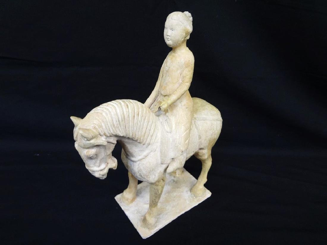 Tang Dynasty Female Rider and Horse E. and J. Frankel