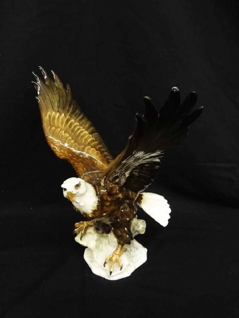Hutschenreuther Germany Large Bald Eagle Porcelain