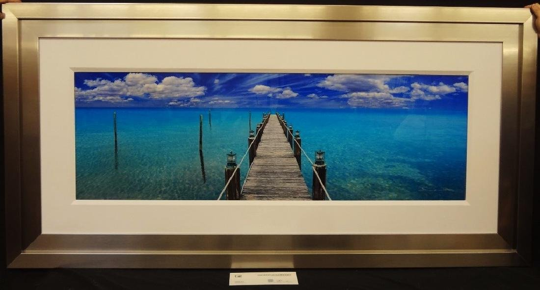 Peter Lik Original Massive Photograph: TRANQUIL BLUE: