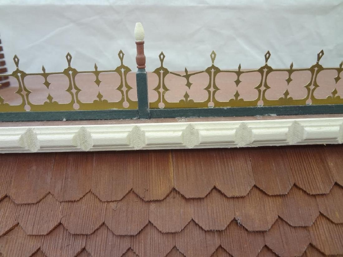 20th Century Victorian Painted Doll House Kit - 10