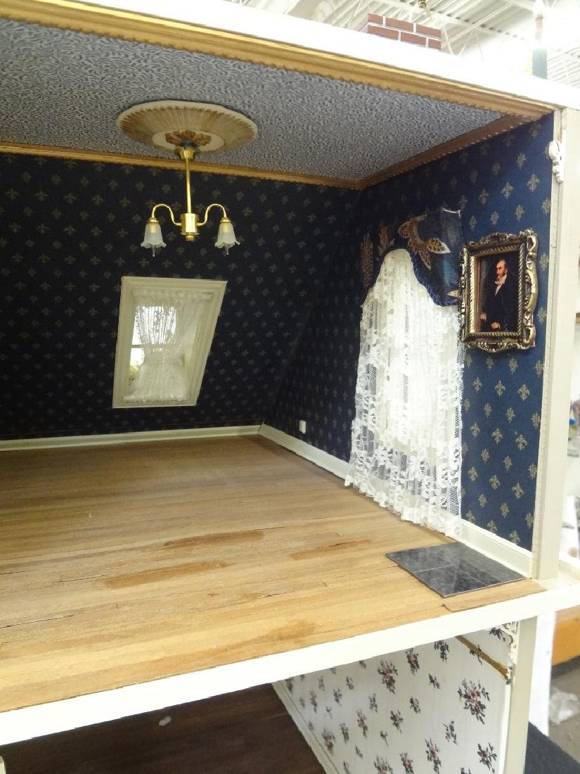 20th Century Victorian Painted Doll House Kit - 19