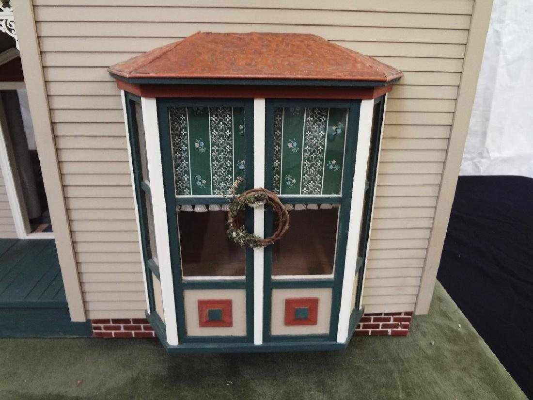 20th Century Victorian Painted Doll House Kit - 2