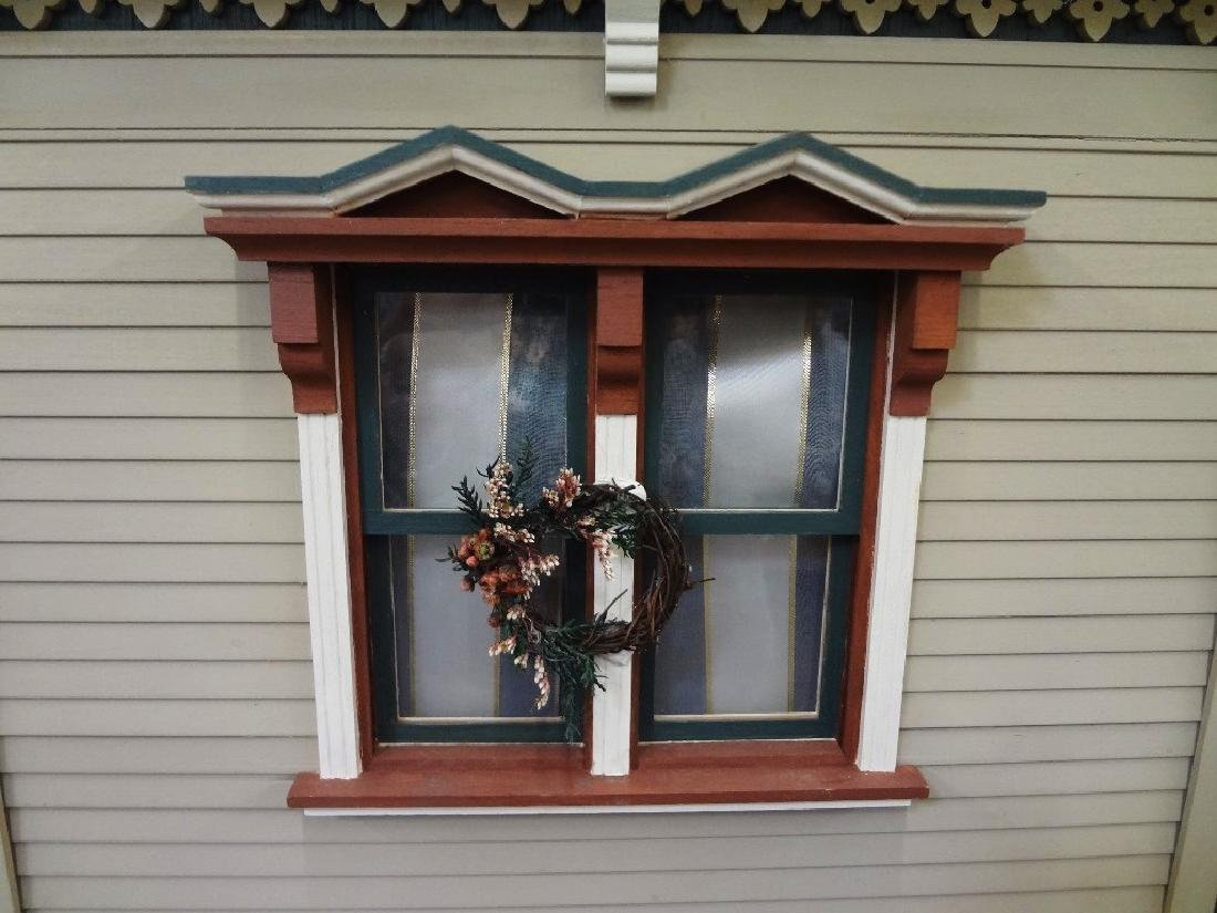 20th Century Victorian Painted Doll House Kit - 3