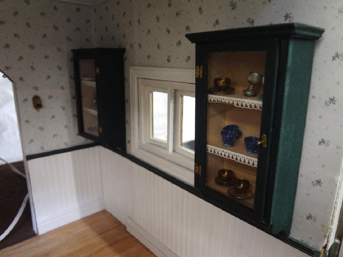 20th Century Victorian Painted Doll House Kit - 8
