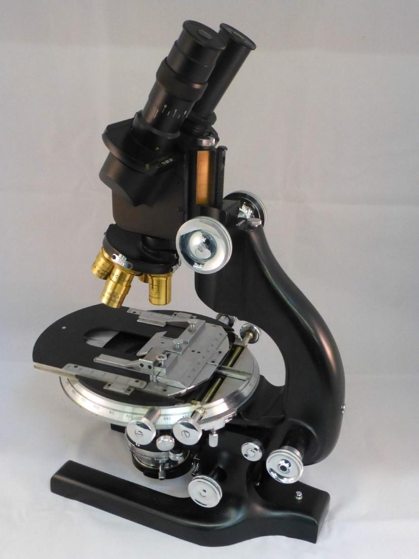 Spencer Buffalo Microscope w Oculars & Apochromatic
