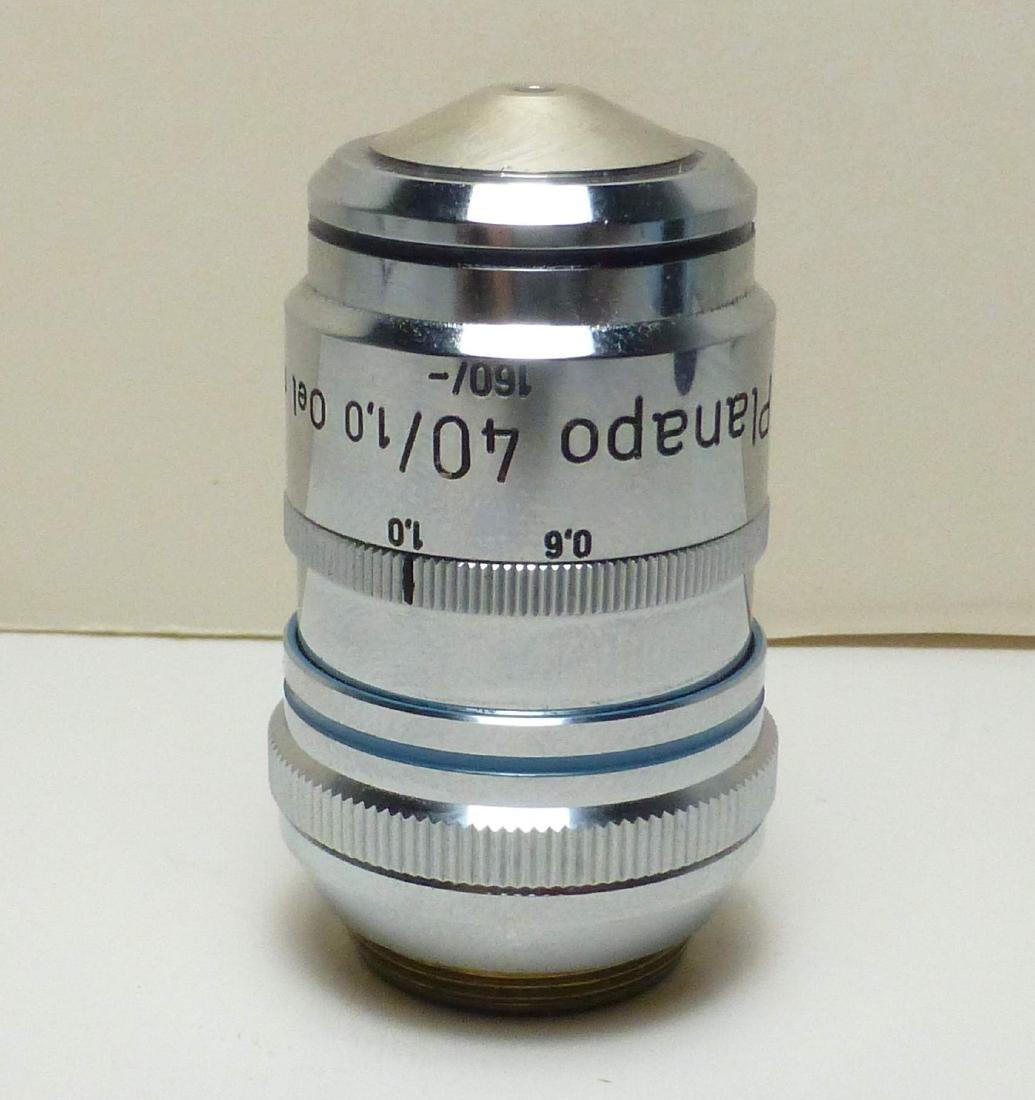 Zeiss PlanAPO 40/1.0 Oel m.l. 160/- Microscope