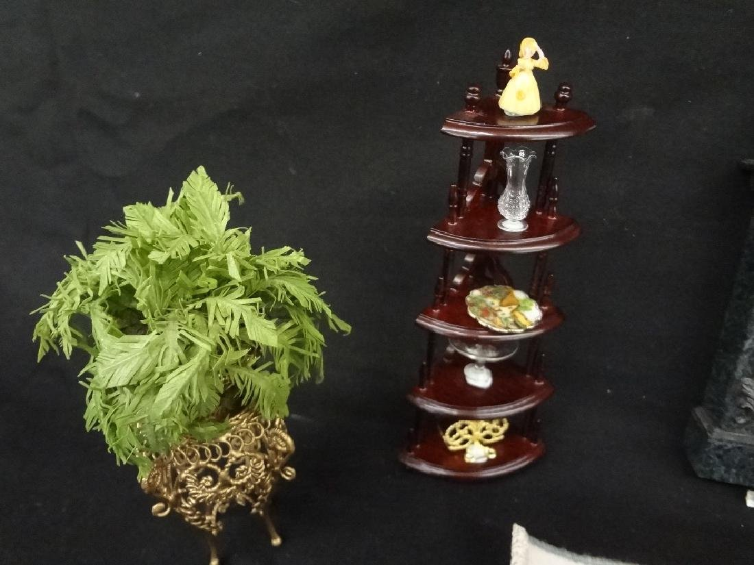 Collection of Miniature Doll House Furniture - 3