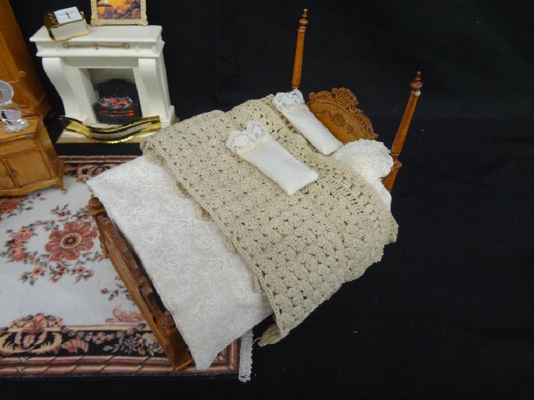 Collection of Miniature Doll House Furniture - 2