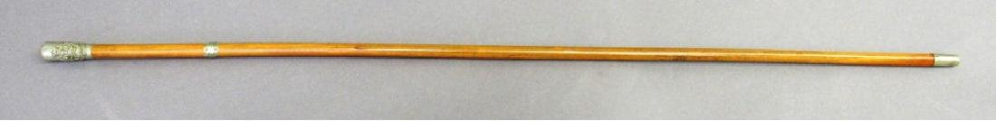Prince of Wales's Leinster Regiment swagger stick 2nd