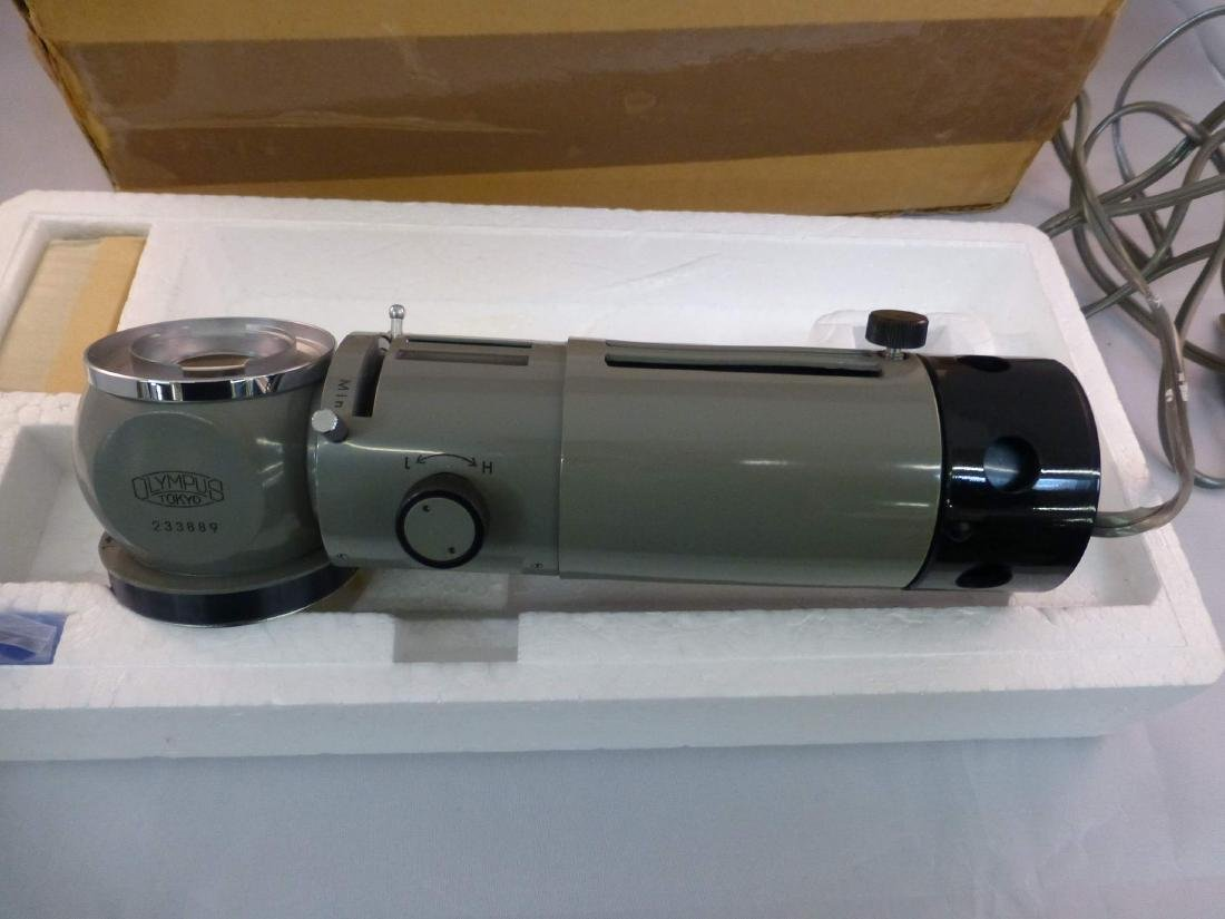 Olympus Vertical Microscope illuminator Light Source