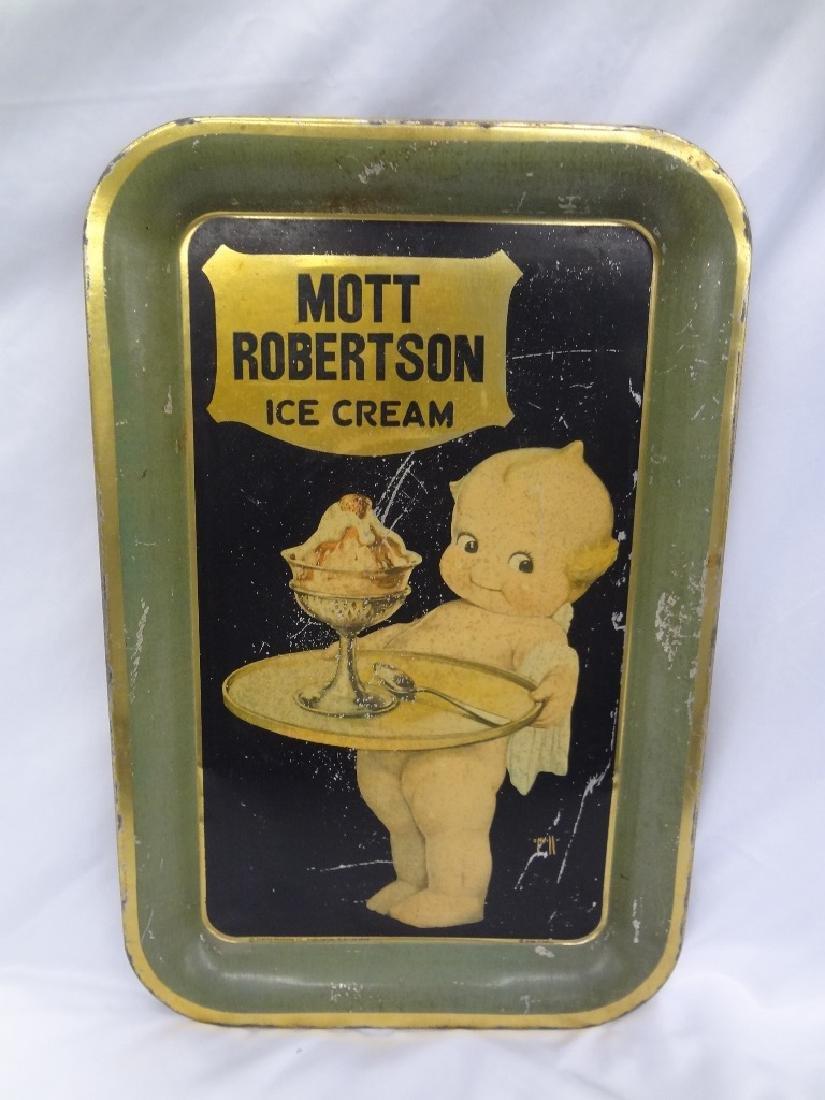 Mott Robertson Rosie O'Neill Kewpie Ice Cream Tray