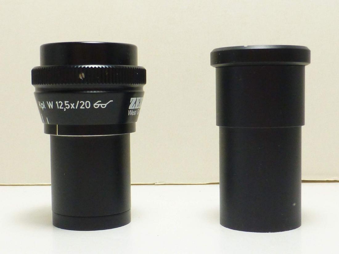 2 Different Zeiss Kpl W Ocular Microscope Eyepieces