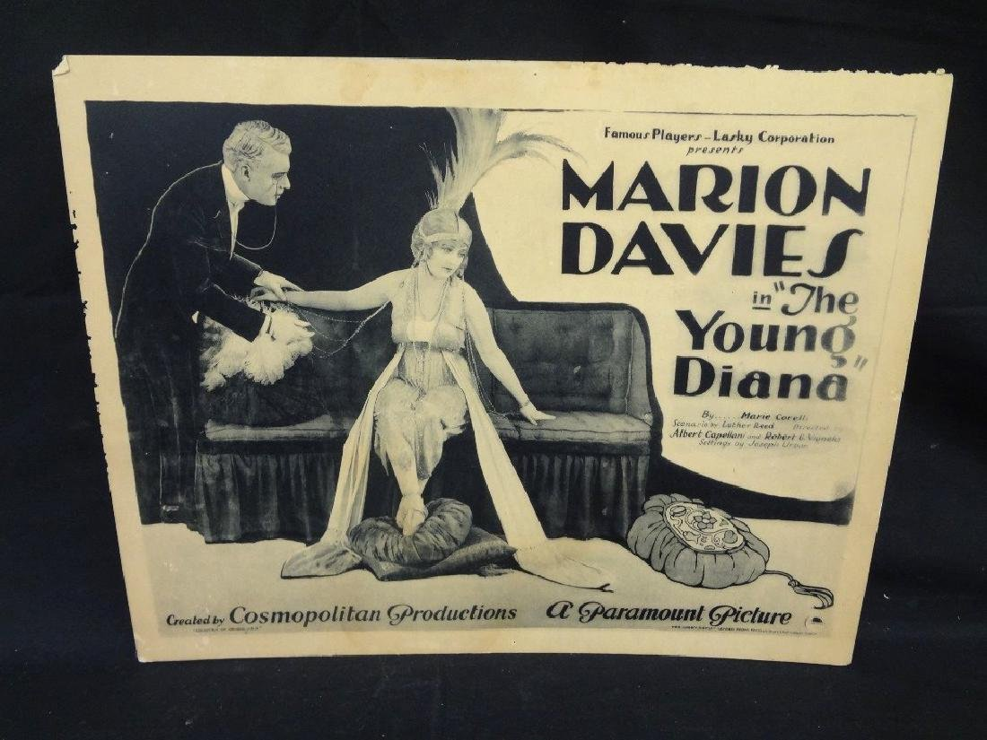 "Paramount Pictures 7/8 Lobby Cards Marion Davies ""The - 2"