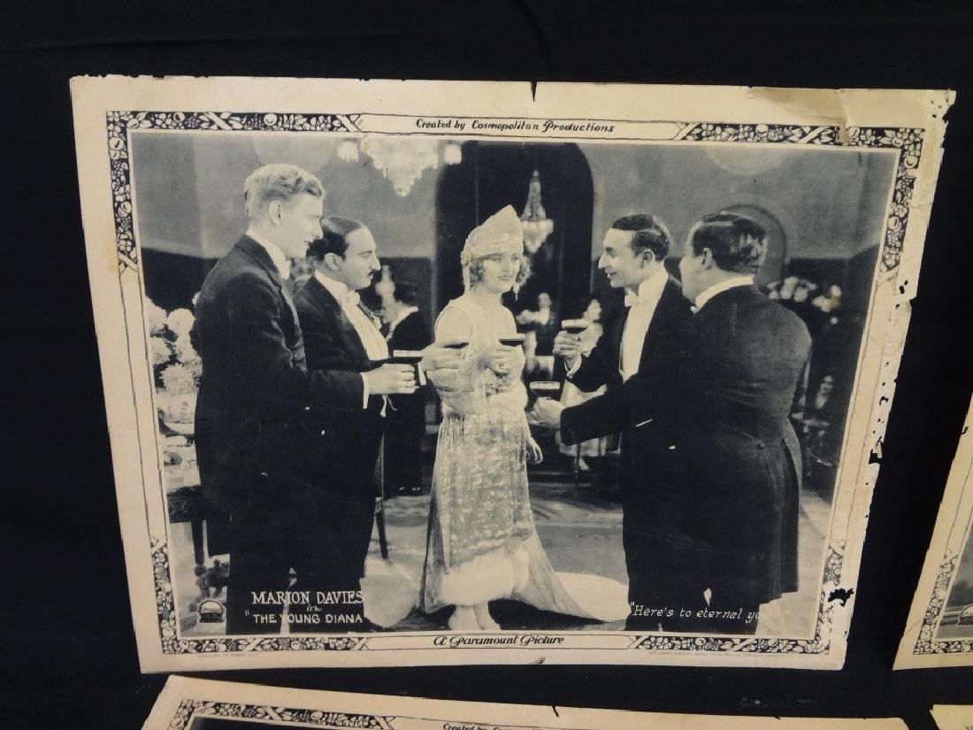 "Paramount Pictures 7/8 Lobby Cards Marion Davies ""The - 3"