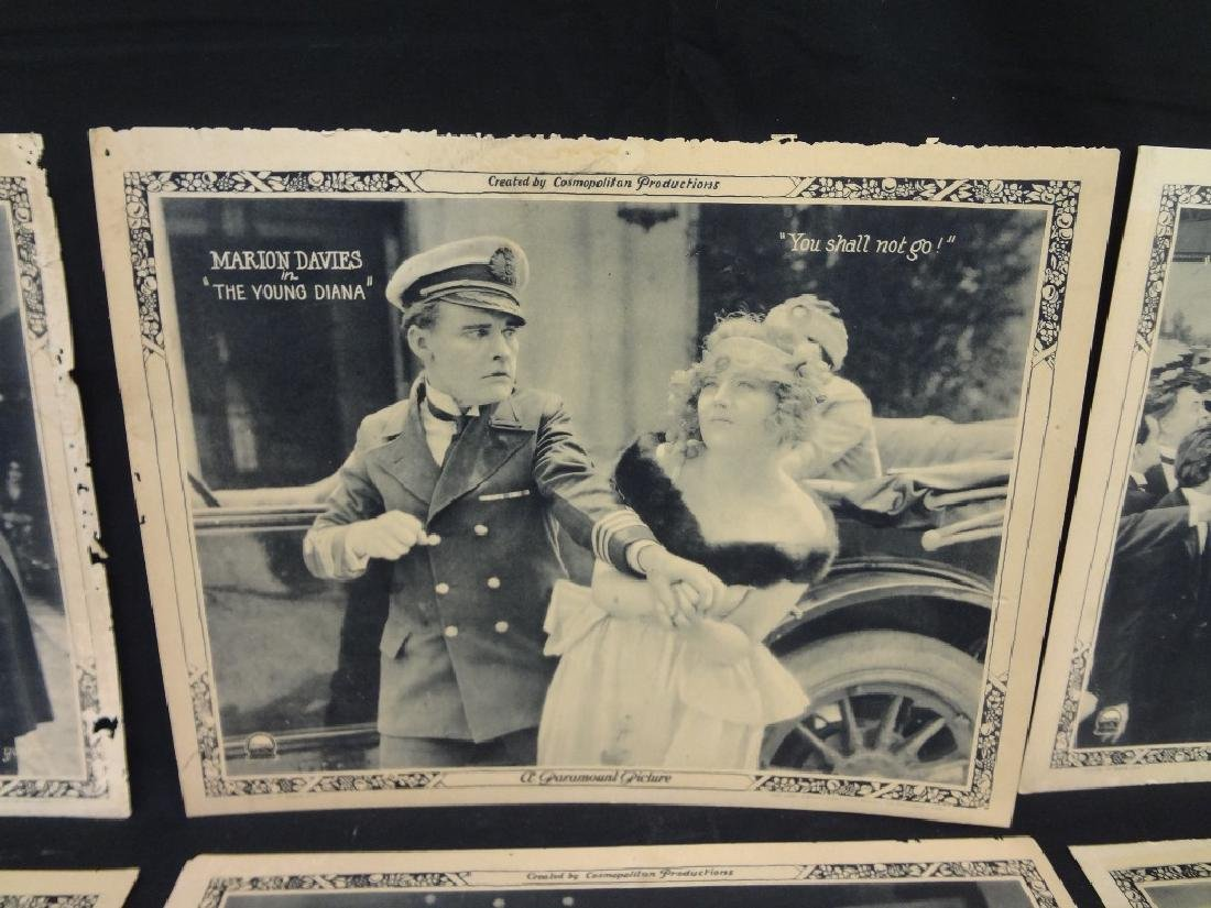 "Paramount Pictures 7/8 Lobby Cards Marion Davies ""The - 5"